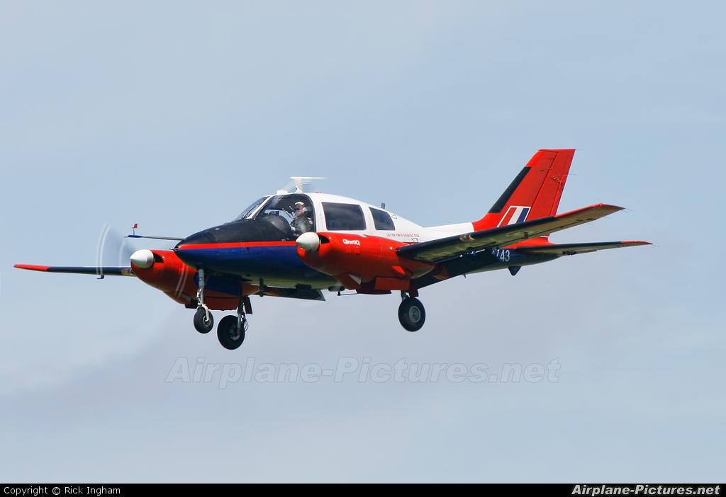 Royal Air Force: Empire Test Pilots School XS743 aircraft at Boscombe Down