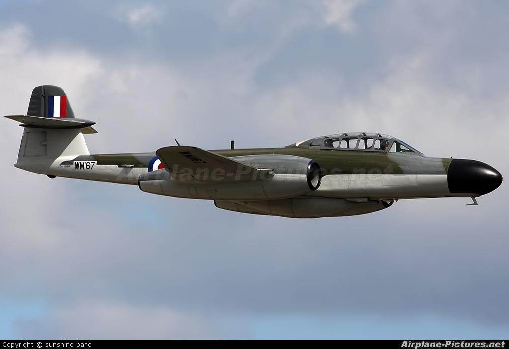 Classic Air Force G-LOSM aircraft at Waddington