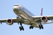 G-VFIZ - Virgin Atlantic Airbus A340-600 aircraft