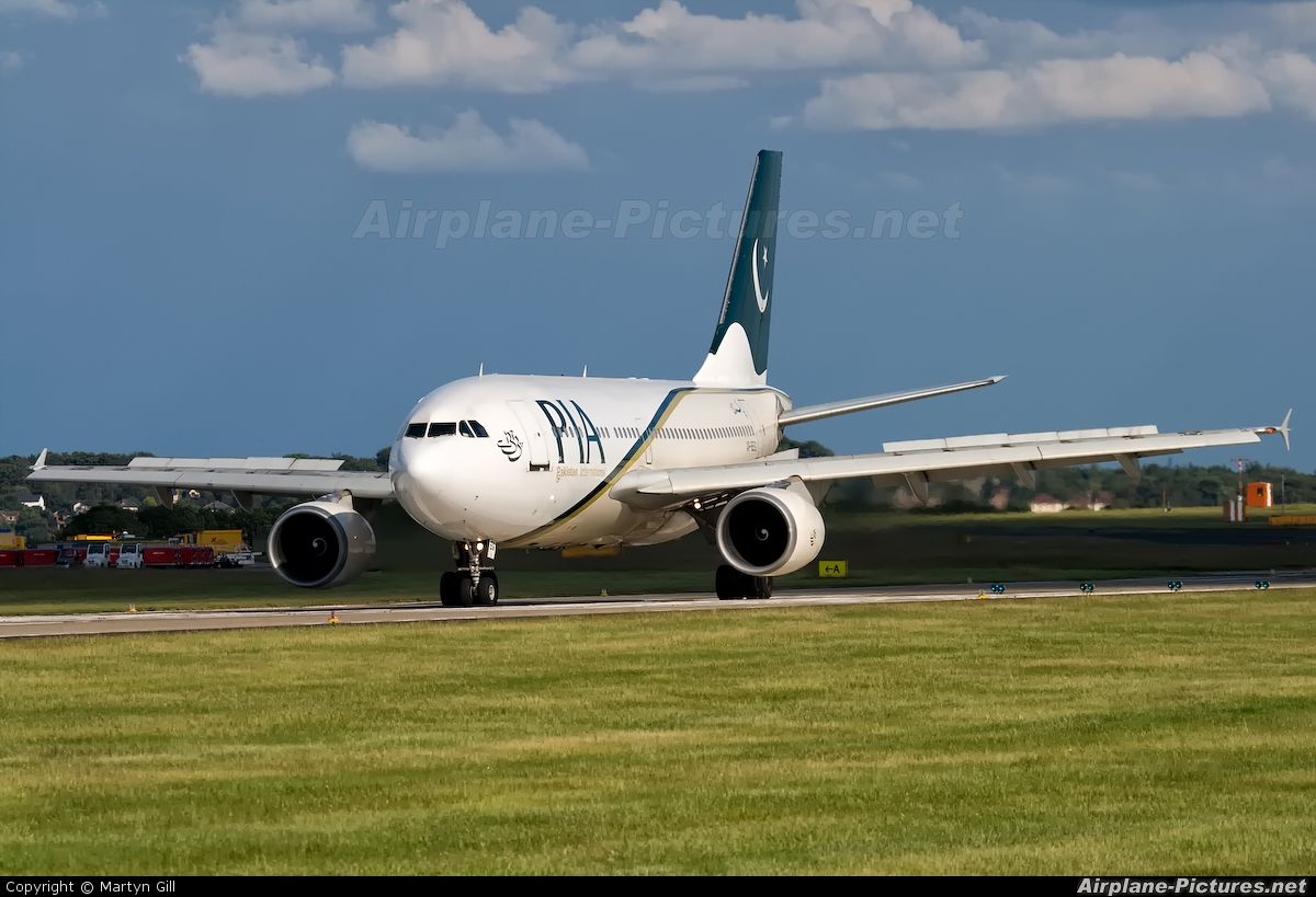 PIA - Pakistan International Airlines AP-BEG aircraft at Leeds Bradford
