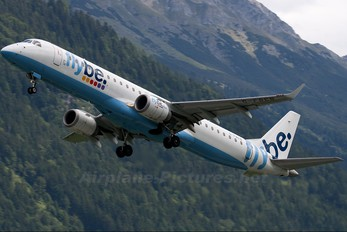 G-FBEB - Flybe Embraer ERJ-195 (190-200)