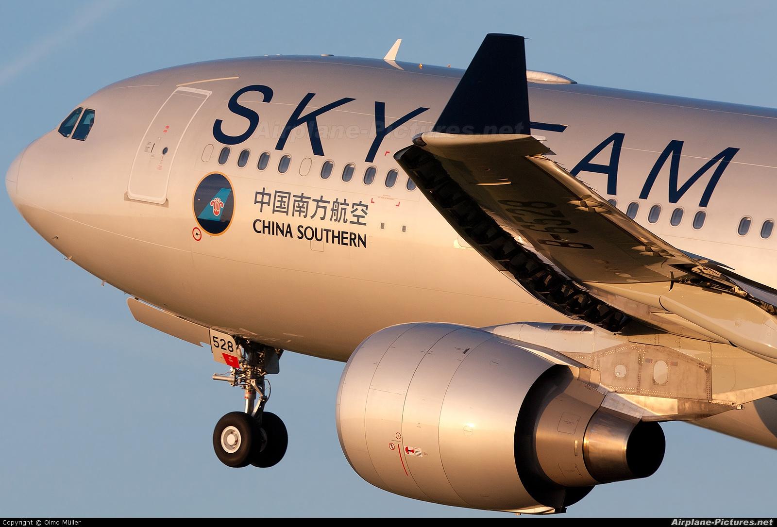 China Southern Airlines B-6528 aircraft at Amsterdam - Schiphol