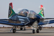 2025 - South Africa - Air Force: Silver Falcons Pilatus PC-7 I & II aircraft