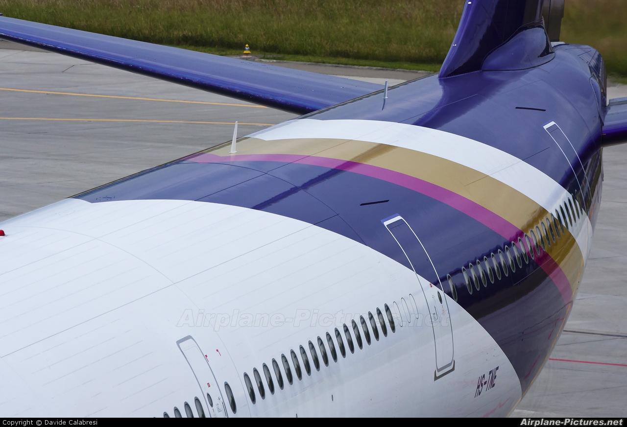 Thai Airways HS-TNE aircraft at Zurich