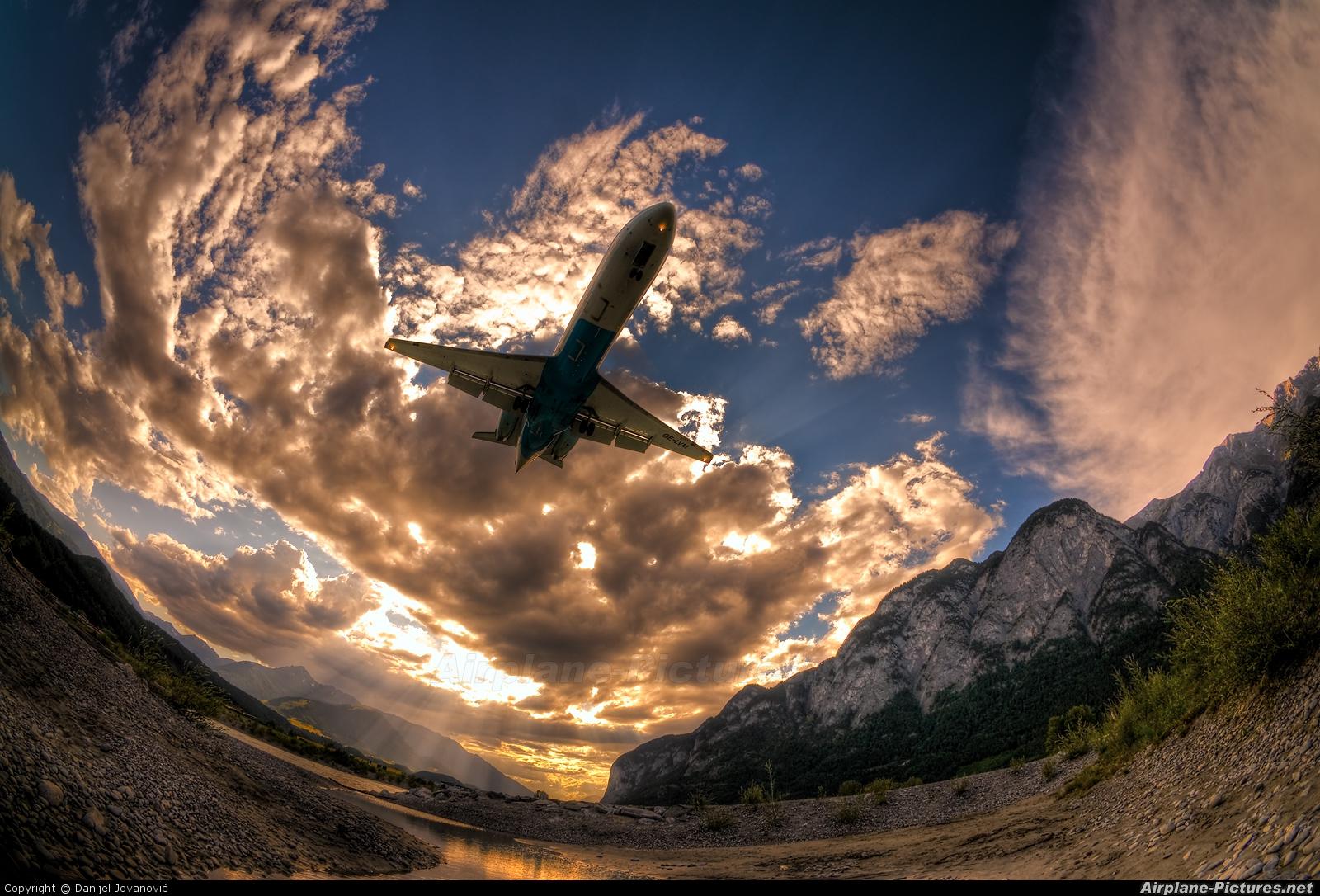 Austrian Airlines/Arrows/Tyrolean OE-LVM aircraft at Innsbruck