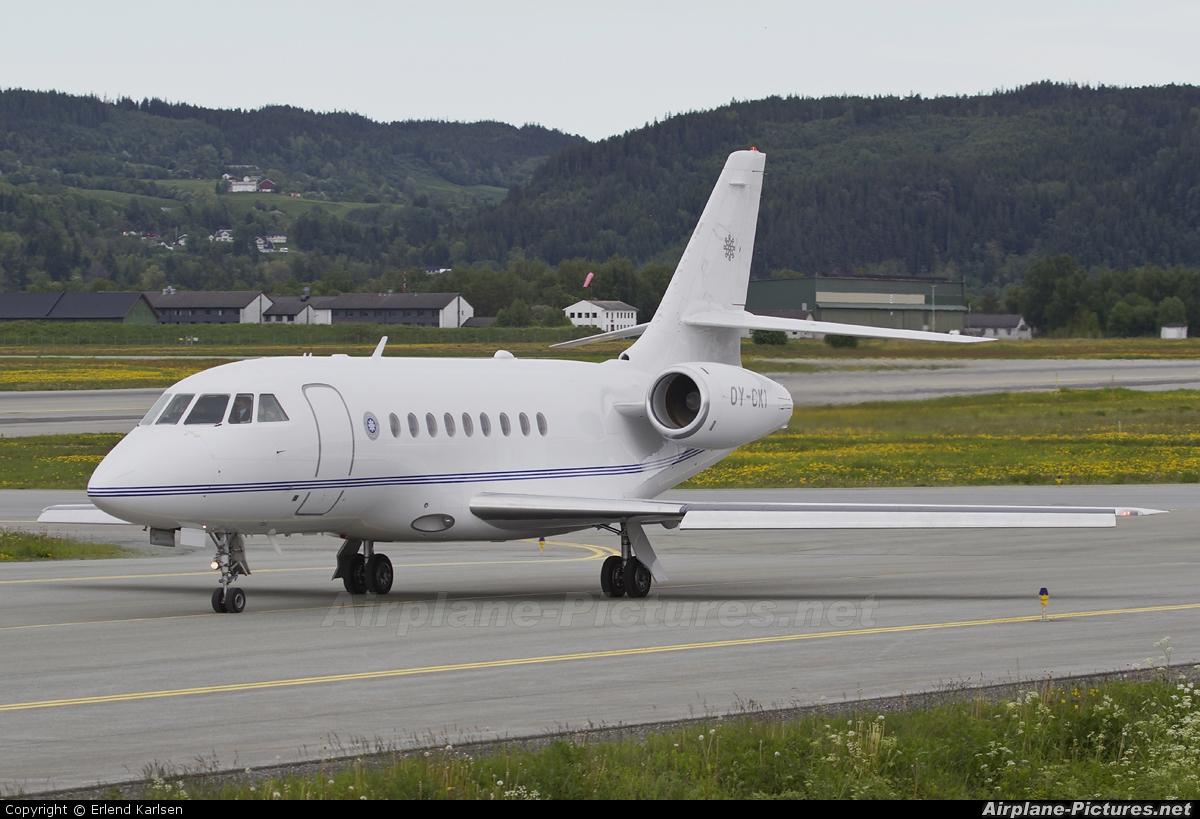 Air Alsie OY-CKI aircraft at Trondheim - Vaernes