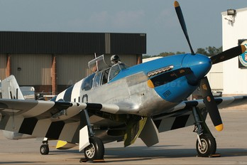NL487FS - Private North American P-51C Mustang