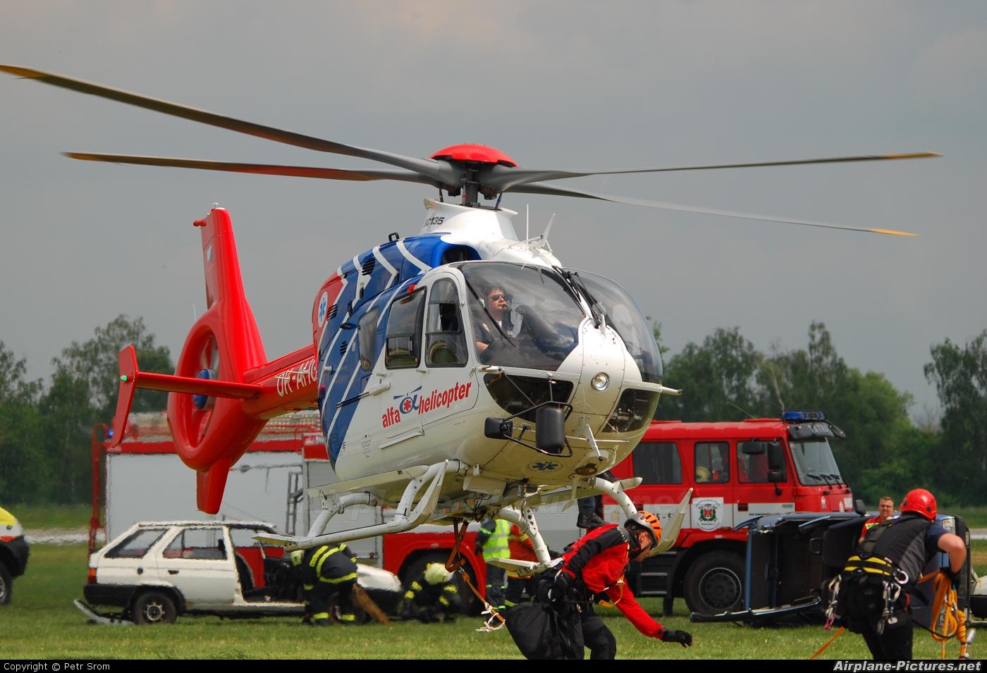 Alfa Helicopter OK-AHG aircraft at Hradec Králové