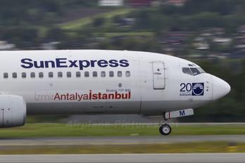 TC-SUM - SunExpress Boeing 737-800