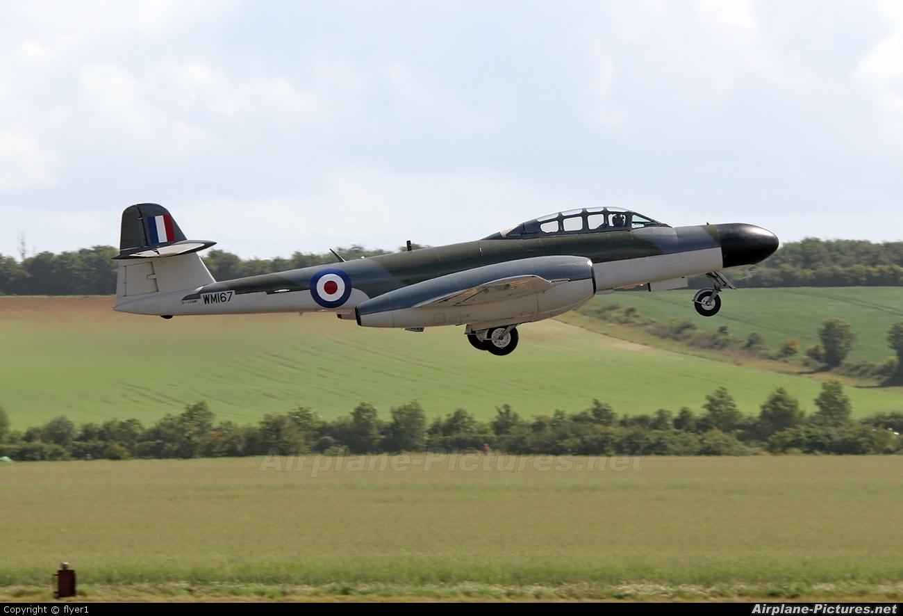 Classic Air Force G-LOSM aircraft at Duxford