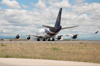 HS-TGH - Thai Airways Boeing 747-400