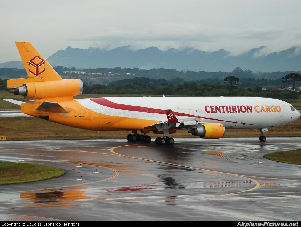 Centurion Air Cargo N988AR aircraft at Curitiba -  Afonso Pena