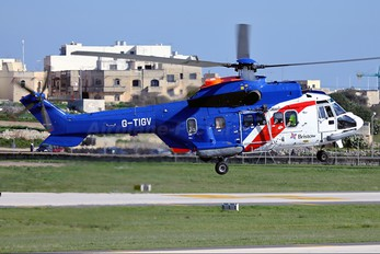 G-TIGV - Bristow Helicopters Aerospatiale AS332 Super Puma L (and later models)