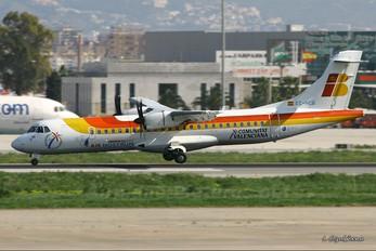 EC-HCG - Air Nostrum - Iberia Regional ATR 72 (all models)