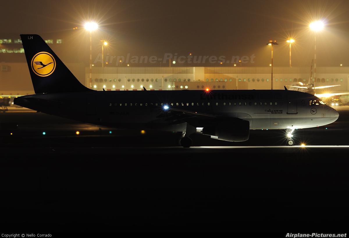 Lufthansa Italia D-AILH aircraft at Milan - Malpensa