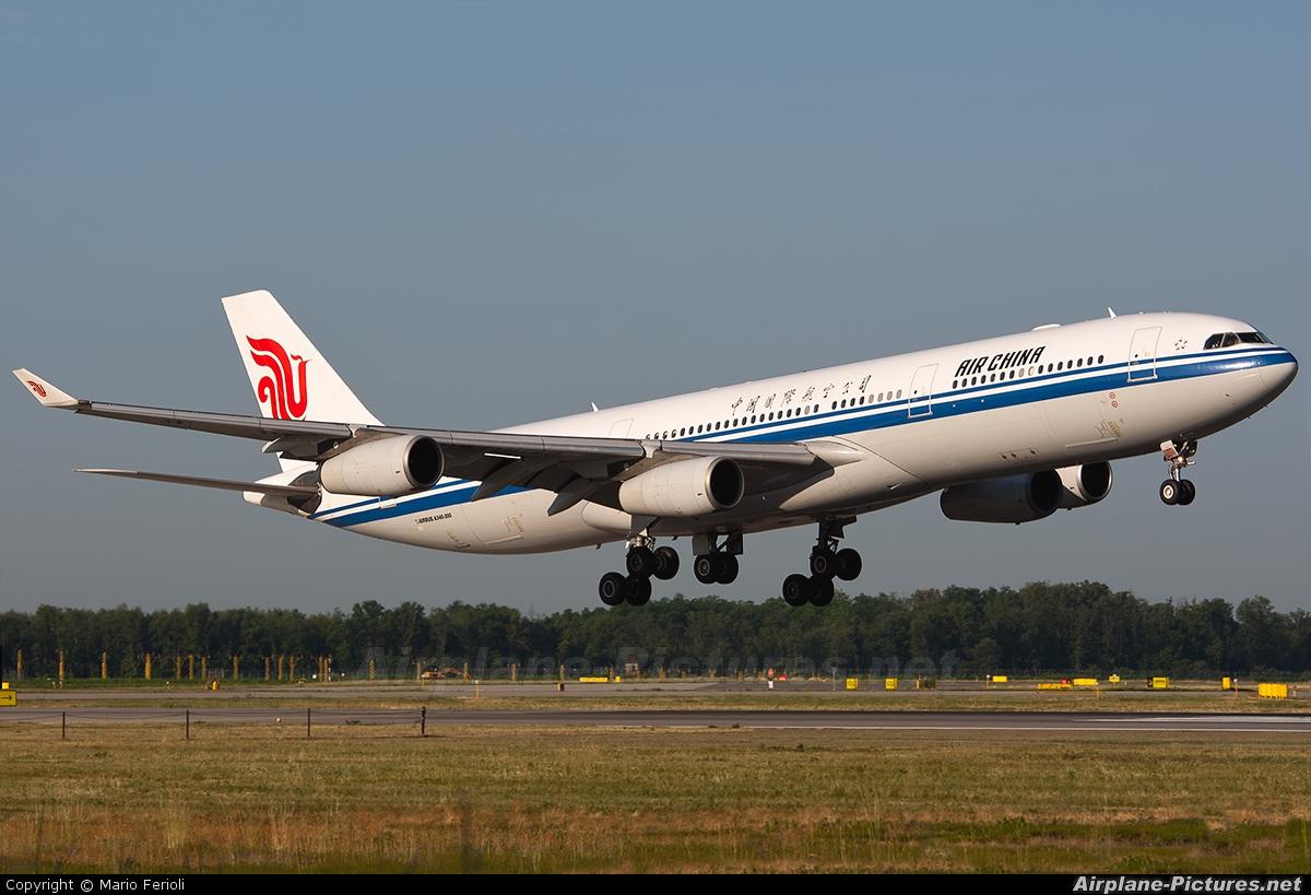 Air China B-2388 aircraft at Milan - Malpensa