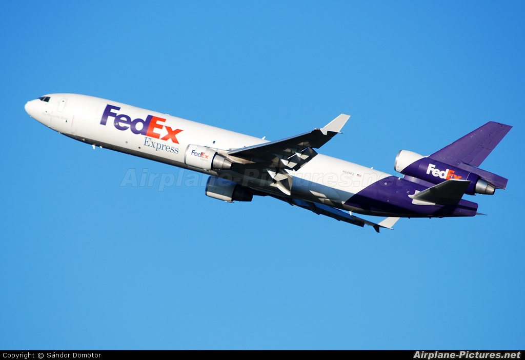 FedEx Federal Express N628FE aircraft at Budapest Ferenc Liszt International Airport