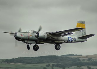 434602 - Scandinavian Historic Flight Douglas A-26 Invader