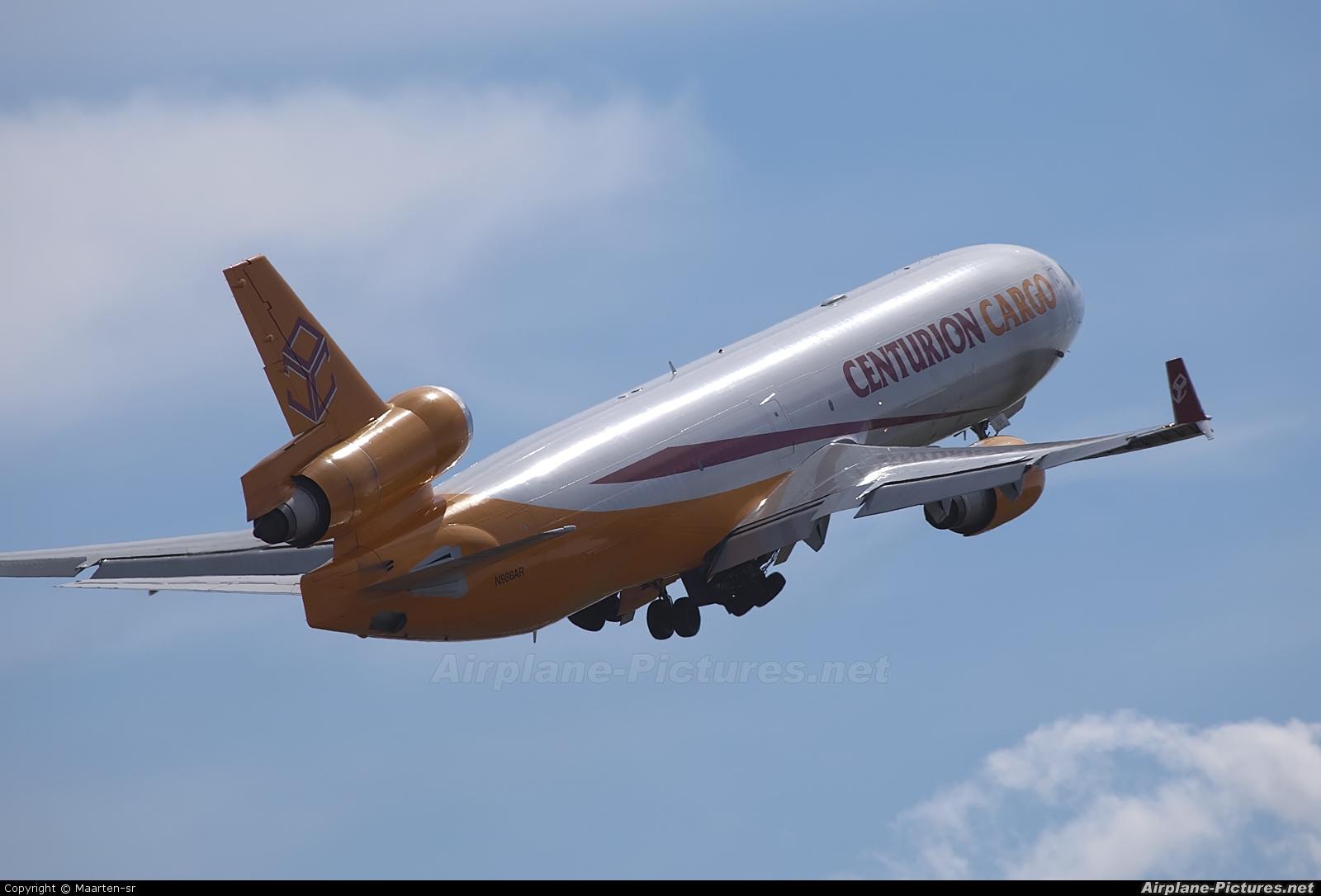 Centurion Air Cargo N986AR aircraft at Amsterdam - Schiphol