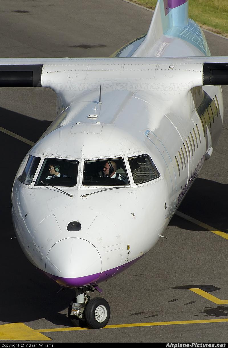 Air Southwest G-WOWC aircraft at Southampton Eastleigh