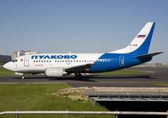 EI-CDE - Pulkovo Airlines Boeing 737-500