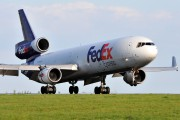 N606FE - FedEx Federal Express McDonnell Douglas MD-11F aircraft