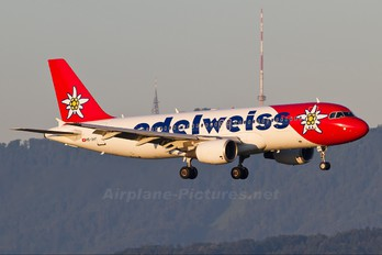 HB-IHY - Edelweiss Airbus A320