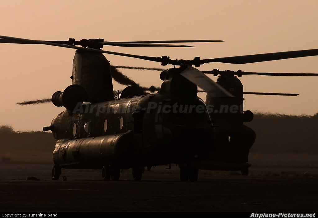 Netherlands - Air Force D-666 aircraft at Off Airport - Afghanistan
