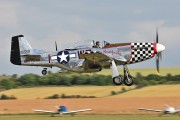 D-FBBD - Private North American P-51D Mustang aircraft