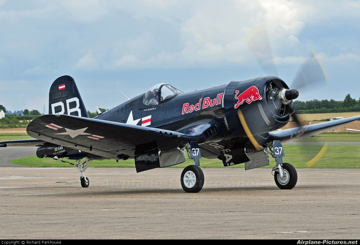 The Flying Bulls OE-EAS aircraft at Duxford