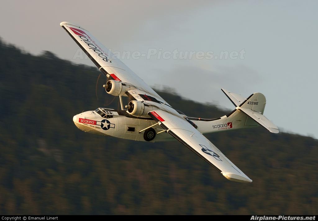 Catalina Aircraft G-PBYA aircraft at Lake Wolfgang
