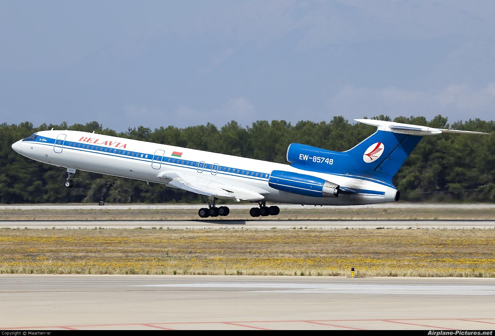 Belavia EW-85748 aircraft at Antalya