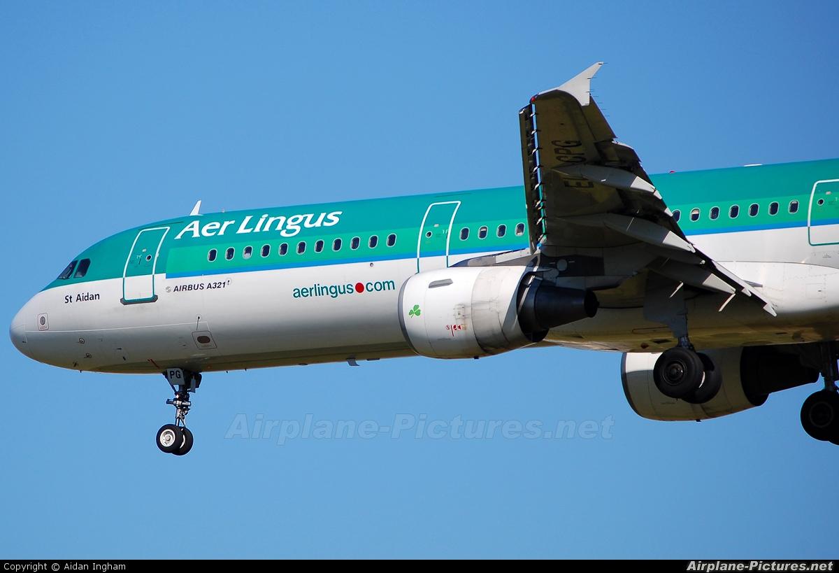 Aer Lingus EI-CPG aircraft at London - Heathrow