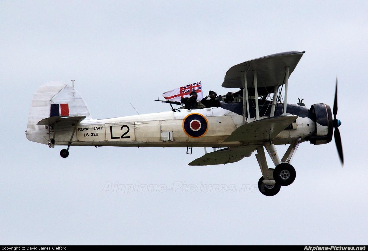 "Royal Navy ""Historic Flight"" LS326 aircraft at Yeovilton"