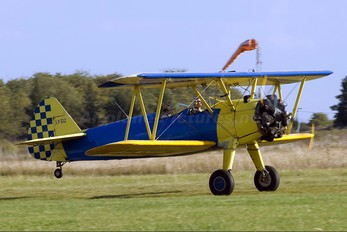 LV-GIZ - Private Boeing Stearman, Kaydet (all models)