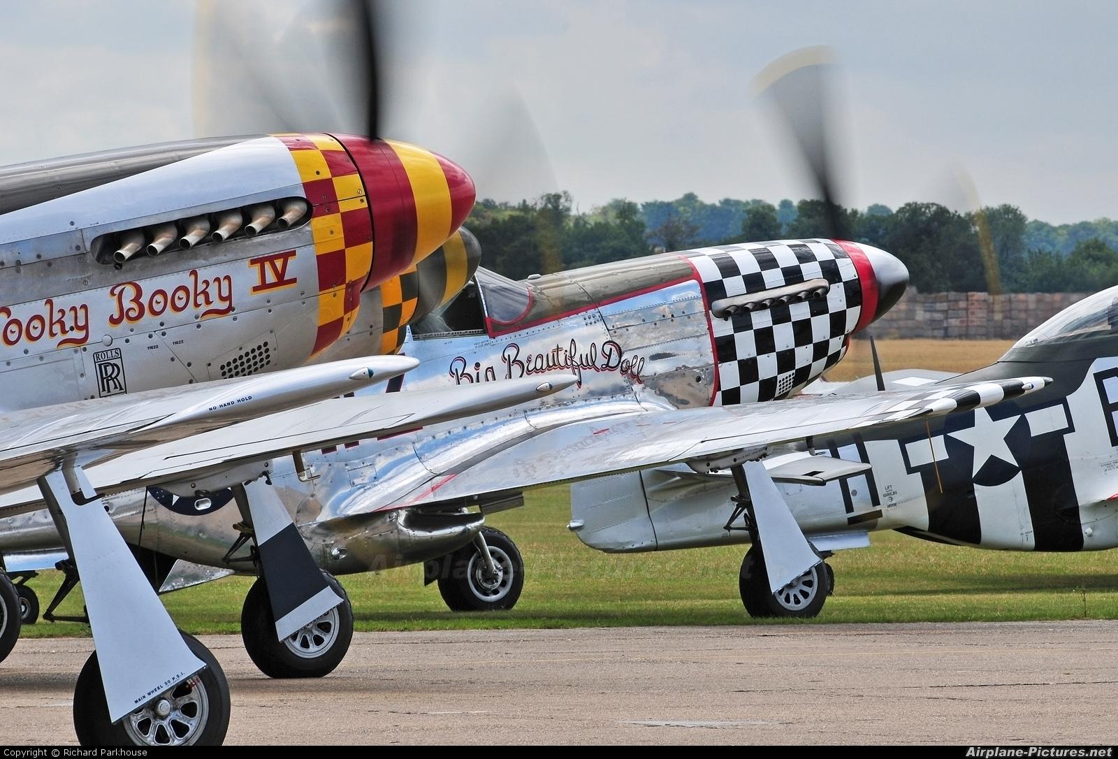 Private D-FBBD aircraft at Duxford