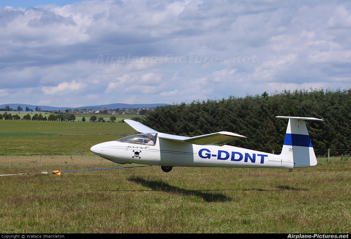 Private G-DDNT aircraft at Drumshade