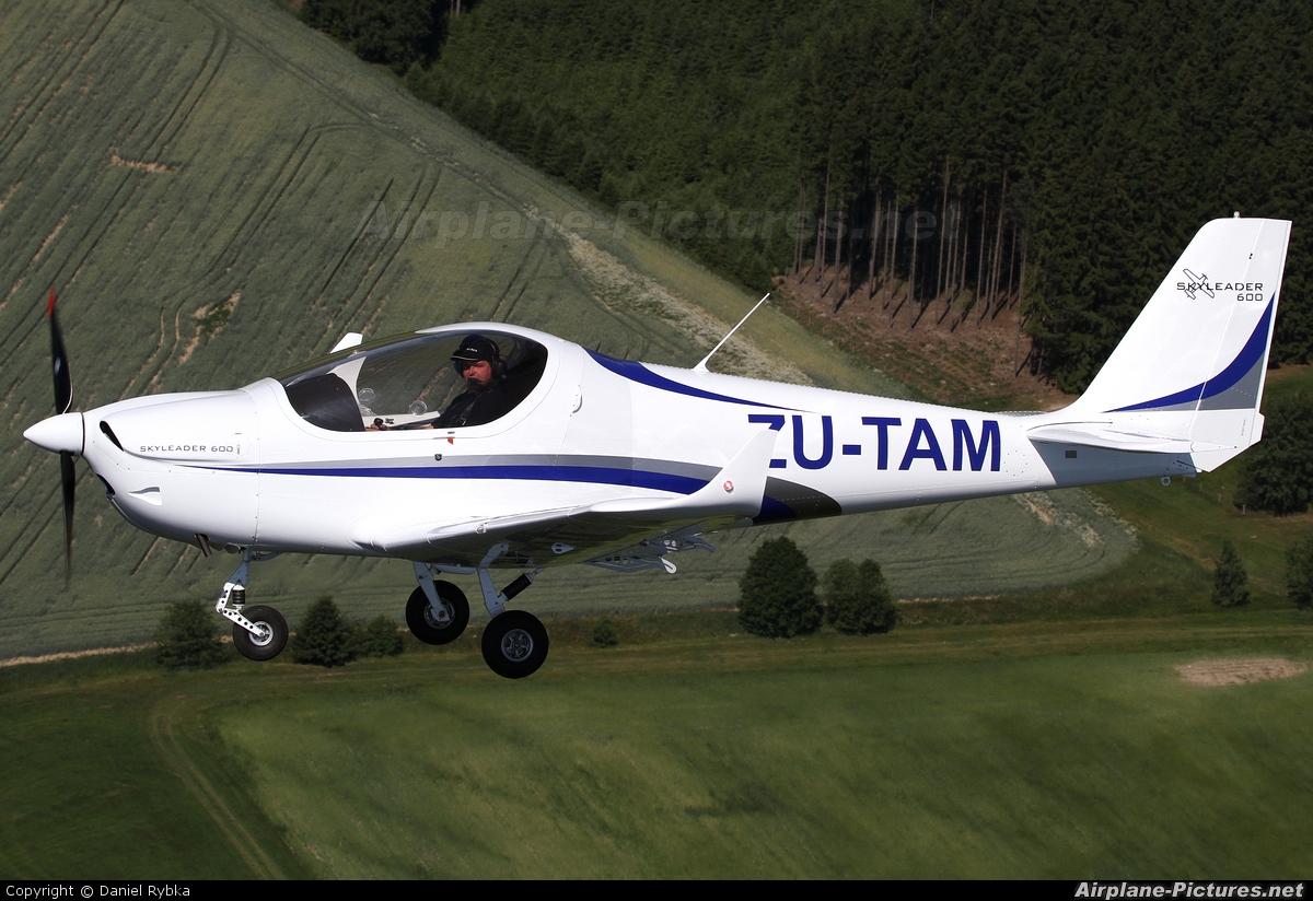 Private ZU-TAM aircraft at Přerov