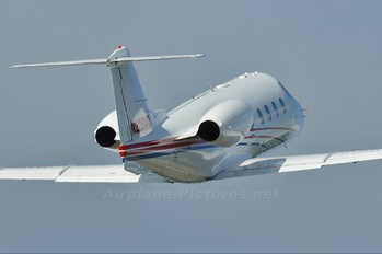 N225MD - Private Learjet 55