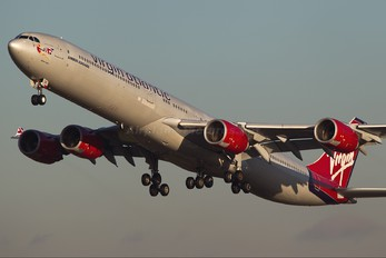 G-VFOX - Virgin Atlantic Airbus A340-600