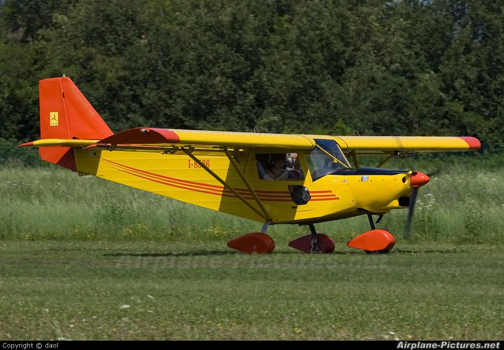 Private I-8586 aircraft at Thiene - Arturo Ferrarin