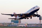 G-BNLZ - British Airways Boeing 747-400 aircraft