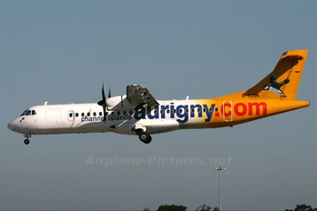 G-VZON - Aurigny Air Services ATR 72 (all models)