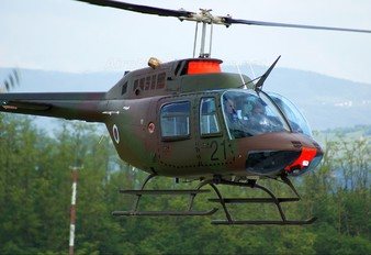 H1-21 - Slovenia - Air Force Bell 206B Jetranger III