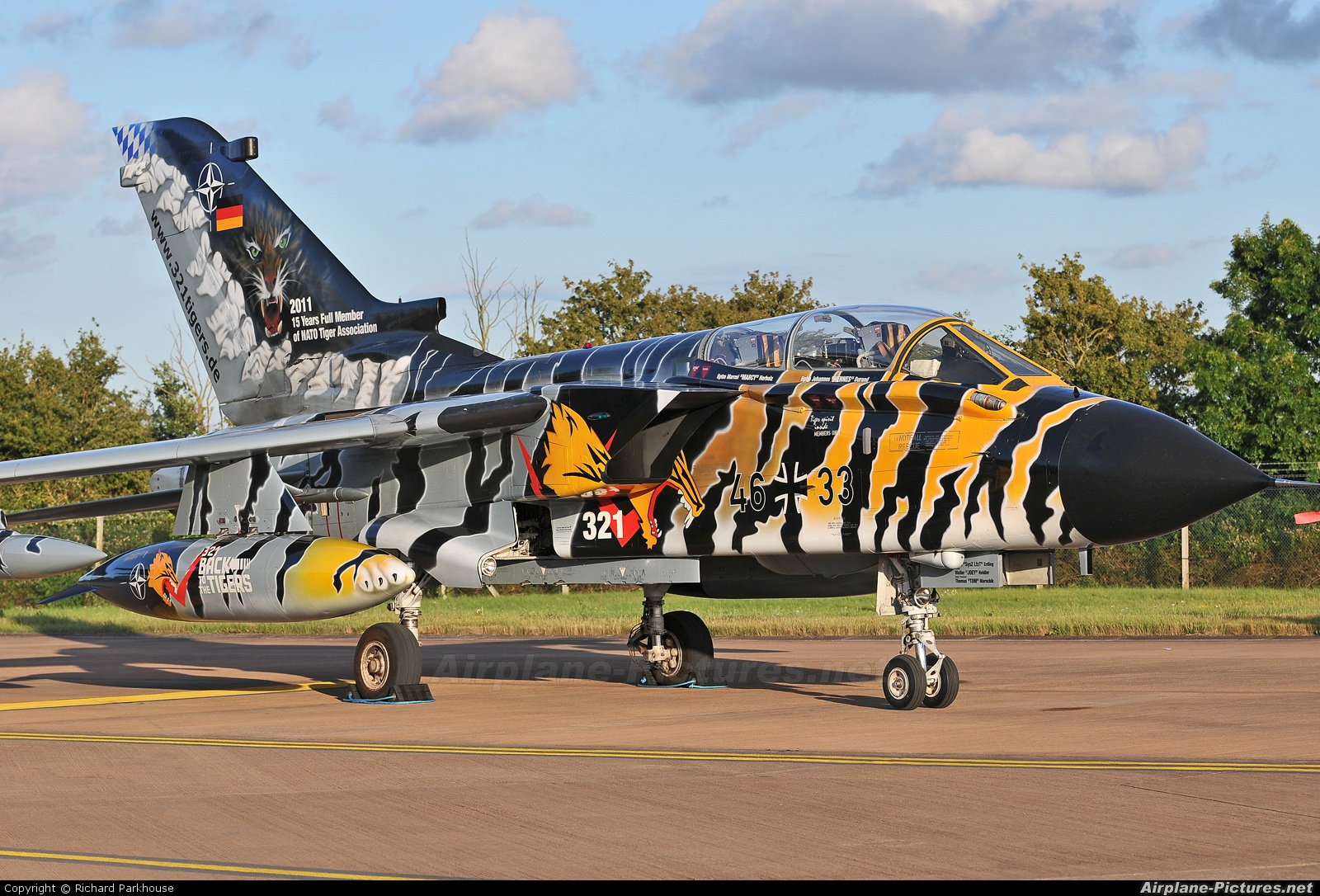 Germany - Air Force 46+33 aircraft at Fairford