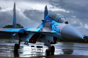 75 - Ukraine - Air Force Sukhoi Su-27UB aircraft