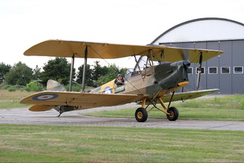 OY-ECH - Private de Havilland DH. 82 Tiger Moth