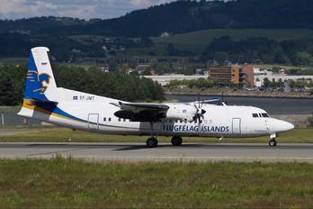 TF-JMT - Air Iceland Fokker 50