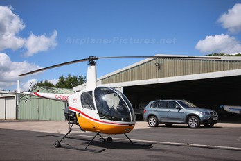 G-DABS - HJS Helicopters Robinson R22