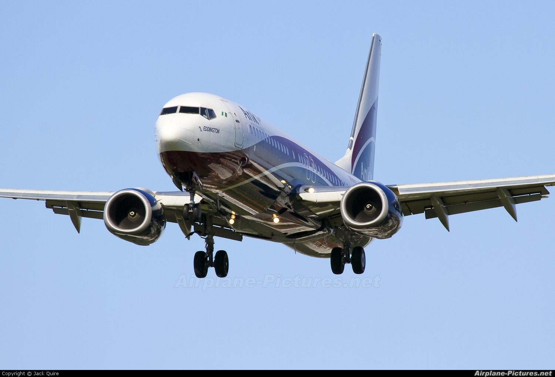 Arik Air 5N-MJN aircraft at London - Heathrow